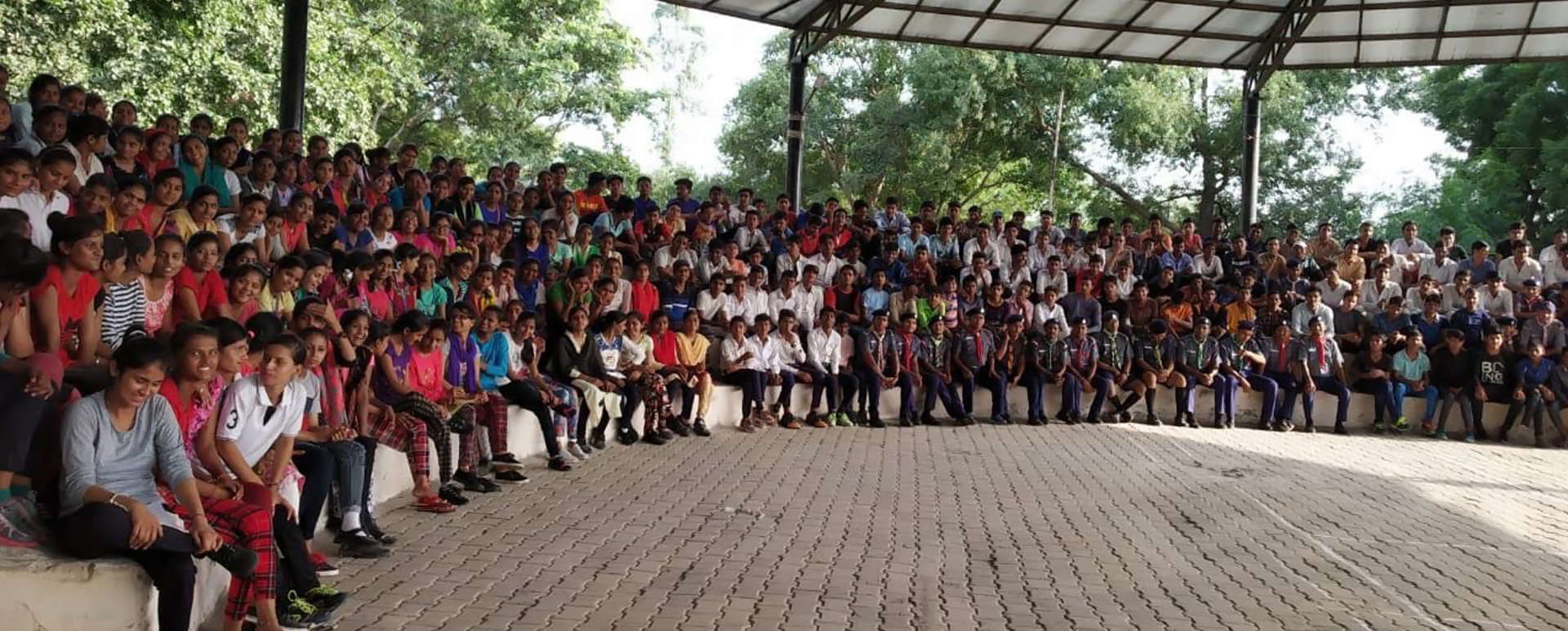 Adventure camp at Palwal District