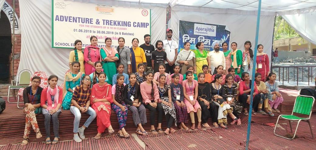 TTT in Adventure and Trekking Camp, Haryana